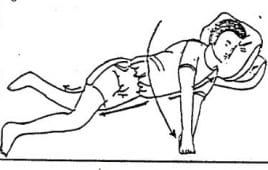 Tập lăn trở cho bệnh nhân